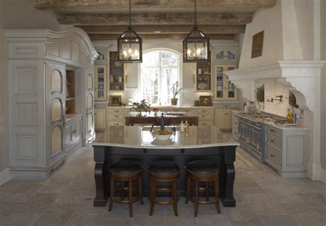 French Finese Kitchen   Rustic   Kitchen   minneapolis