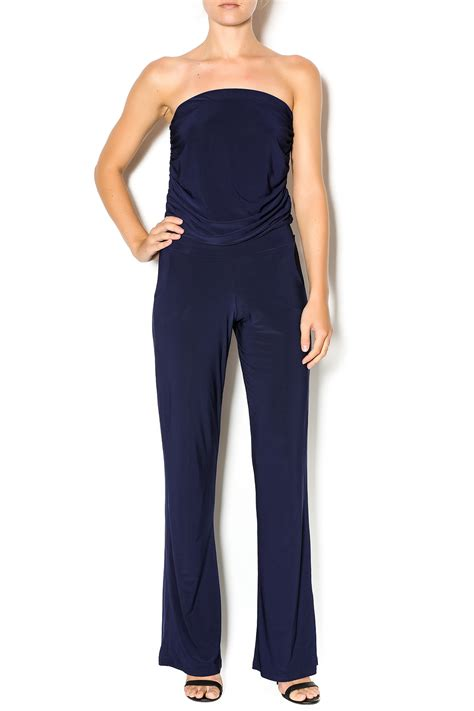 strapless jumpsuit viereck strapless jumpsuit from westhton by chic