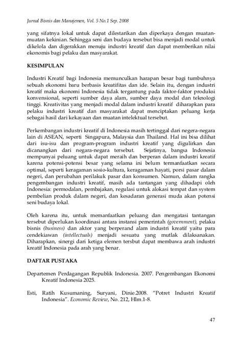 Jurnal bisnis dan manajemen