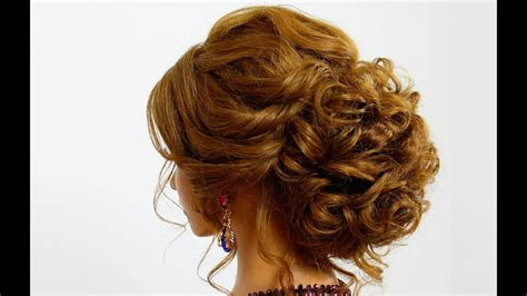 hairstyle  long hair prom updo youtube