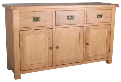 Malvern Sideboard by Malvern 3 Drawer Sideboard Transitional Sideboards