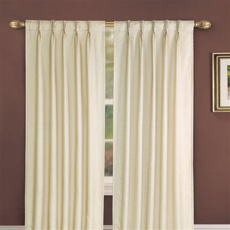 pinch pleated thermal drapes pinch pleated drapes and curtains thecurtainshop