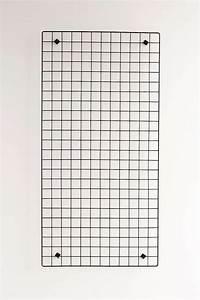 Grille Murale Deco : grille murale rectangulaire en fil m tallique office accessories frames pinterest ~ Teatrodelosmanantiales.com Idées de Décoration