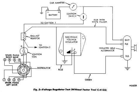 1973 Chrysler Alternator Wiring Diagram mopar charging systems