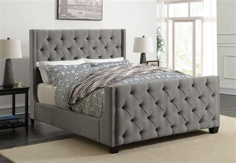 Choose from contactless same day delivery, drive up and more. Palma Gray Twin Upholstered Panel Bed from Coaster ...
