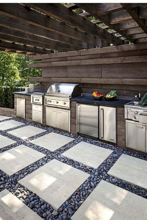 diy kitchen floor ideas 60 amazing diy outdoor kitchen ideas on a budget page 3 6844