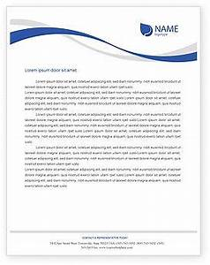 letter headed paper template business letter template With headed letter template word