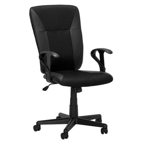 chaise de bureau noir chaise de bureau seattle 2 noir leen bakker