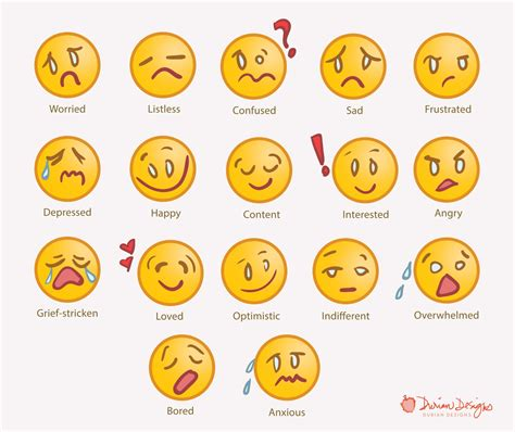Feelings Clipart Feelings Clipart Pencil And In Color
