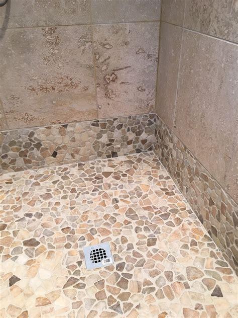 Mosaik Fliesen Dusche Boden by Mixed Quartz Mosaic Tile Pebble Tile Shop