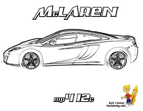 mclaren p1 drawing easy super fast cars coloring fast cars free bugatti