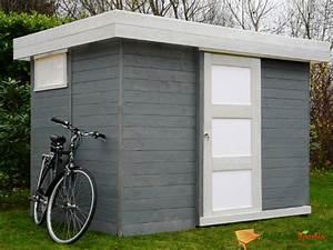 Abri De Jardin Pvc Toit Plat : abri de jardin resine toit plat les cabanes de jardin ~ Dailycaller-alerts.com Idées de Décoration