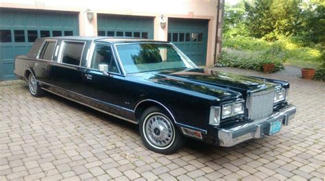 Town Car Limousine 1986 lincoln town car for sale 1857098 hemmings motor news