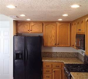 How to update old kitchen lights recessedlighting