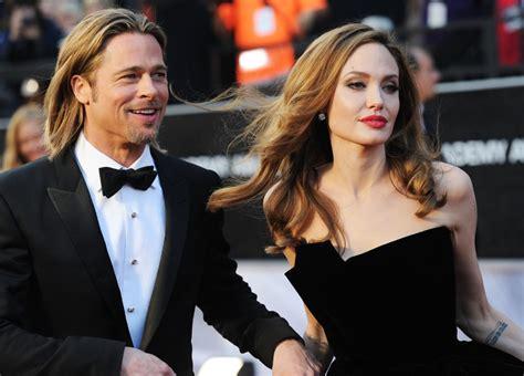 Angelina Jolie Brad Pitt Divorce Rumors Angie Is Insanely