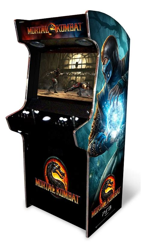 mortal kombat arcade cabinet plans mkx dedicated cab best arcade in show 2016