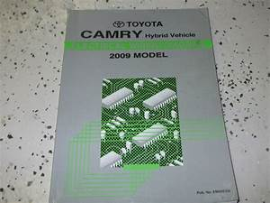 2009 Toyota Camry Hybrid Electrical Wiring Diagram Troubleshooting Shop Manual