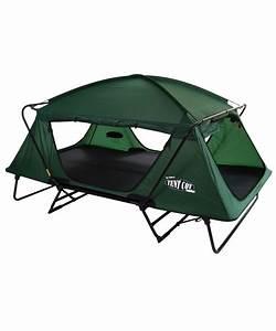 Lit De Camp 2 Personnes : tente sur lev e double originale tente sur pilotis ~ Teatrodelosmanantiales.com Idées de Décoration