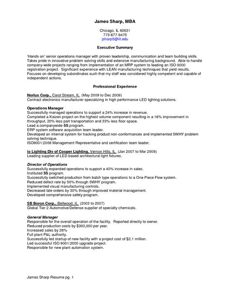 resume problem solving skills exle dailynewsreport970