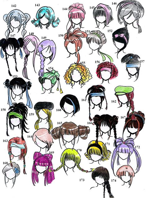 Cool Anime Hairstyles by Anime Style Hair