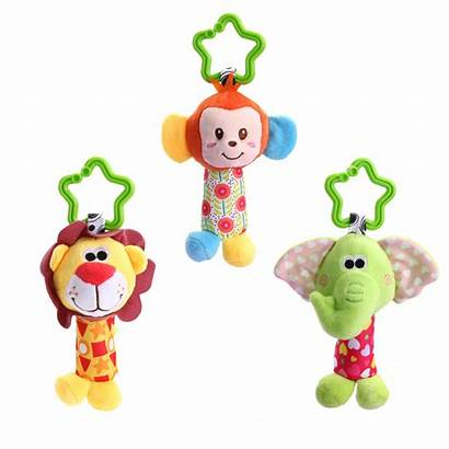 Toys Hanging Stroller Animal Rattle Rattles Bed