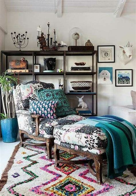 boho chic reupholstered berger chair adore gypsy