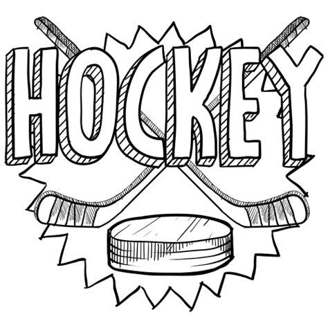 hockey coloring page hockey hockey drawing hockey