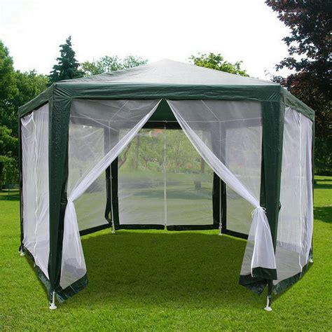 Gazebo Tent Canopy Quictent 174 6 6x 6 6 X 6 6 Hexagon Tent Canopy Screen