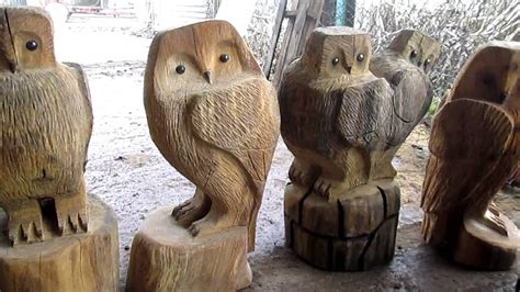 chainsaw carving sussex wooden garden sculptures hand