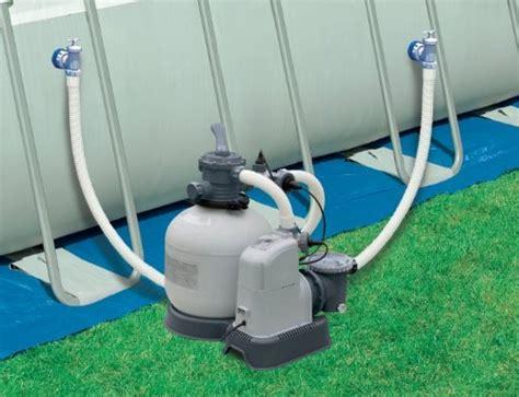 Intex 2650 Gph Sand Filter Pump & Saltwater System Set W