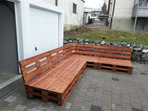 Gartenmöbel Mit Europaletten by Lounge Aus Paletten Bauen Europaletten Mbel Garten
