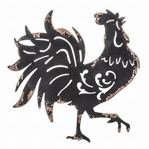 Black Rooster Metal Wall Decor Hobby Lobby 1302710