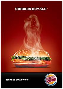 Burger King ad, of course the steam has to form a female ...
