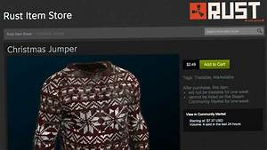Rust Implements First Steam Item Store VG247