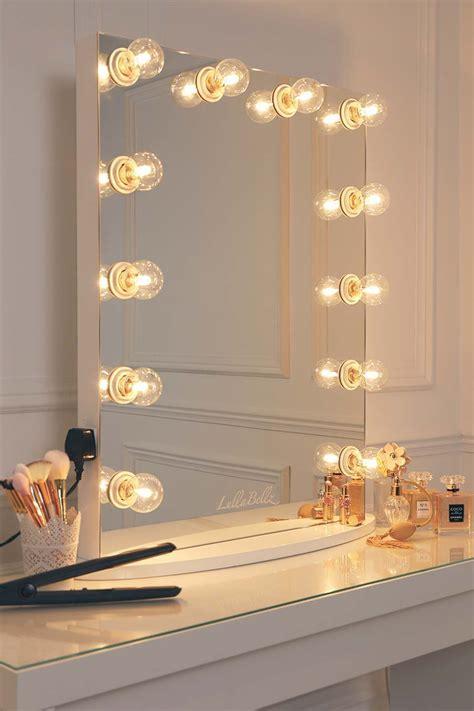 vanity mirror with bulbs glow vanity mirror with clear bulbs lullabellz