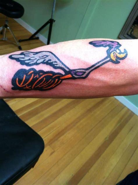 road runner  forearm tattoos runner tattoo tattoos