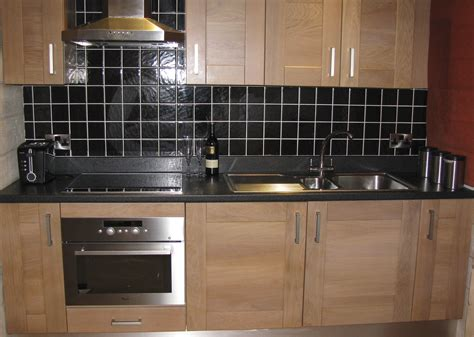 black kitchen tiles kitchens 1700