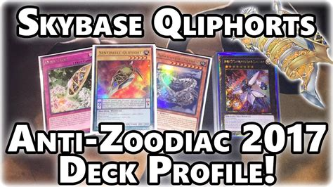 Inzektor Deck Profile 2017 by Anti Zoodiac Skybase Qliphort Yugioh Deck Profile
