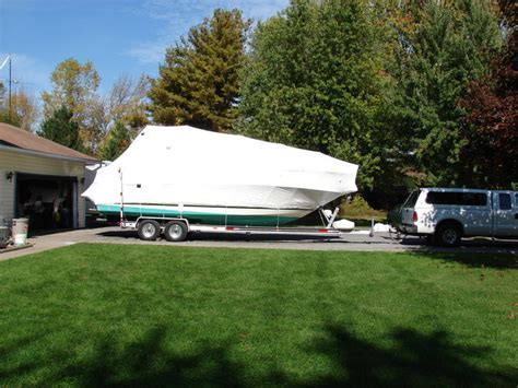 Boat Transport Wrap by Transporting Your Boat With Shrink Wrap Aplasticbag