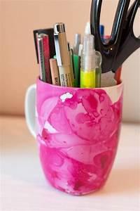 Tassen Bemalen Stifte : diy tasse mit nagellack marmorieren ~ Yasmunasinghe.com Haus und Dekorationen