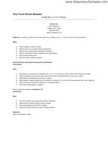 Truck Driver Resume Objectives by Resume For Truck Driver Berathen