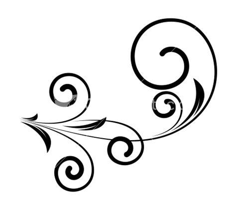 Decorative Swirls - decorative swirl silhouette