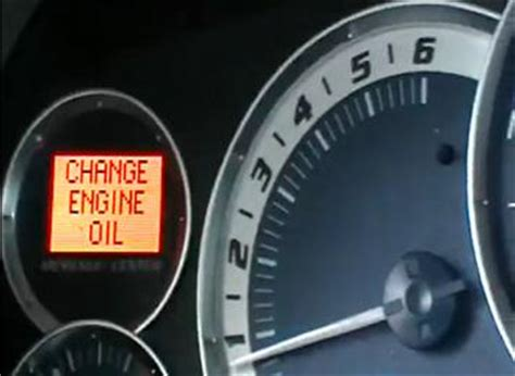reset oil change light diy oil change w pics reset maintenance required light