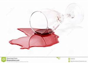 Spilled red wine glass stock photo. Image of wineglass ...