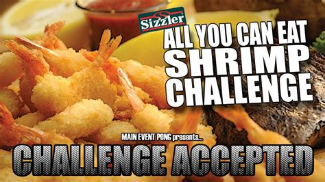 ALL YOU CAN EAT SHRIMP CHALLENGE   Sizzler - YouTube