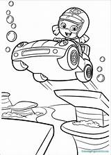 Bubble Coloring Guppies Pages Molly sketch template