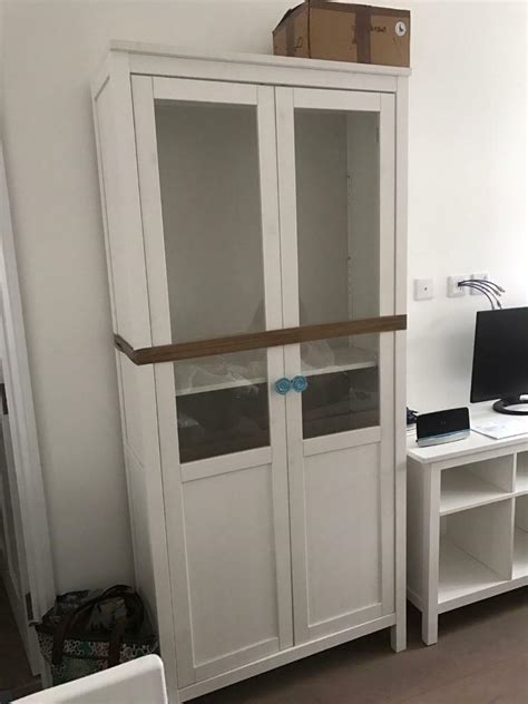 Ikea Pantry Cabinet - ikea hemnes white pantry style cabinet in hammersmith