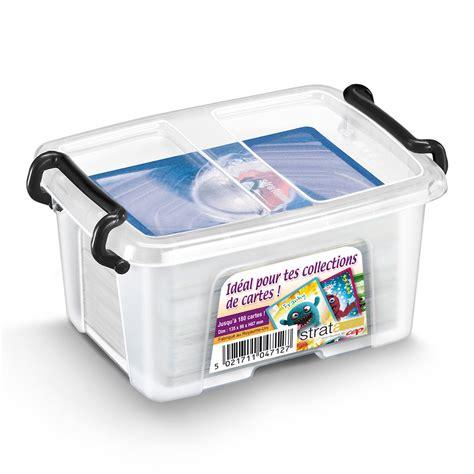 classeur bureau cep strata boite de rangement plastique 0 4 litres boîte de rangement cep sur ldlc com
