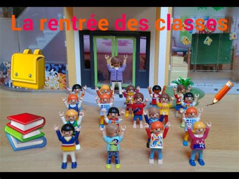la rentree des classes vid 233 o playmobil