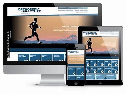 Responsive Website Development Healthcare